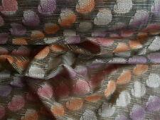 Paisley India Bordados Seda Cruda Confección Tela Sari Tex Multi ex 531