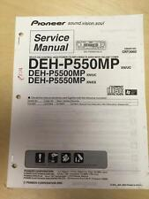 Pioneer Service Manual for the DEH P550MP P5500MP P5550MP Car Stereo     mp