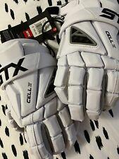 STX Cell IV Lacrosse Gloves Medium