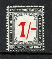 South Africa 1914-22 Postage Due 1s Red & Black SGD7 M/Mint