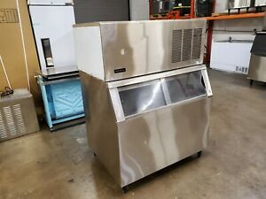 559Lb Kold-Draft Commercial Ice Machine Maker GB561LC Full Cube W/ Ice Bin