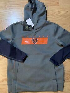 Nike NFL Chicago Bears therma hoodie sz XL BNwT NKDB rare Justin fields Men's
