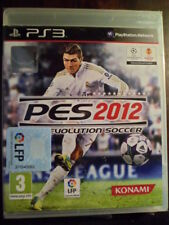 PES 2012 PRO EVOLUTION SOCCER Nuevo precintado PS3 Fútbol Football PAL España