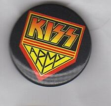 KISS Army BUTTON BADGE AMERICAN HARD ROCK BAND I Was Made For Loving You 25mm
