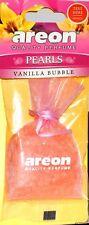 Areon máxima Calidad Lujo De Perfume Bolsa Colgante Ambientador Coche-Burbuja de vainilla.
