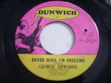 George Edwards Never Mind, I'm Freezing / Norwegian Wood 1966 45rpm VG+ GARAGE
