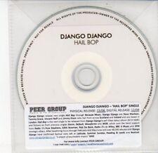 (DD596) Django Django, Hail Bop - 2012 DJ CD