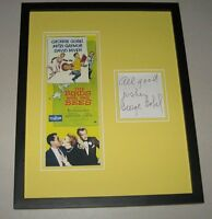 George Gobel Signed Framed 11x14 Photo Poster Display The Birds and the Bees