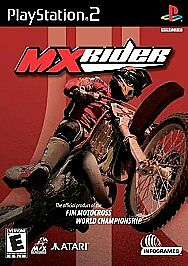 MXrider (Sony PlayStation 2, 2001) Ps2 Tested