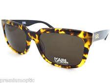 Karl LAGERFELD Occhiali da sole unisex ks6011 090 AMBRA Brown Tortoise/Marrone Scuro
