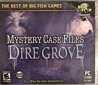 Mystery Case Files: Dire Grove Pc Brand New Win10 8 7 XP