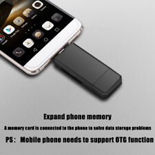 Type-c&USB&Micro USB 3 in 1 SDXC SDHC Extension TF/SD OTG / USB Card Reader Chic