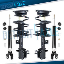 2009-2014 Nissan Maxima Front Spring Struts Assembly + Rear Shock Absorbers Set