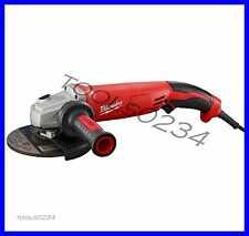 "New Milwaukee 6124-30 Small Angle Grinder 13 Amp 5"" Trigger Grip, Lock-On"