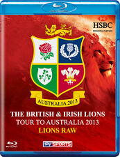 The British & Irish Lions 2013: Lions Raw Blu-ray