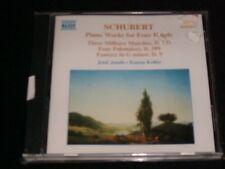 SCHUBERT°PIANO WORKS<>JENO JANDOAND ZSUZSA KOLLAR<>NEW  CD~NAXOS 8.553441