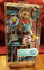 2011 MONSTER HIGH Doll Frankie Stein Fashion Pack Outfit W9123 Clothes Shoes NEW