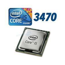 Processor Desktop Computer Intel Core i5 3470 LGA 1155 Quad Core 3,2 GHZ Bulk