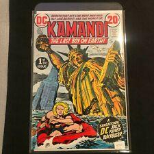 Kamandi #1 Key 1st App Kamandi, 1st Ben Boxer, etc. Jack Kirby 1972 No Reserve
