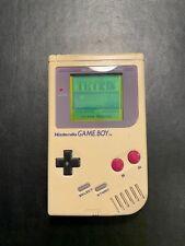 Nintendo Game Boy Classic Konsole - Grau (DMG-01): Display frei von Kratzern