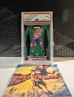 2017 Panini Prizm MARKELLE FULTZ Green Prizm ROOKIE ** PSA 9**  MAGIC  SIXERS