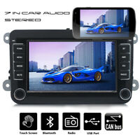 7 in Car Stereo MP5 Player Audio Bluetooth 2 DIN For VW GOLF 5 V PASSAT Tiguan