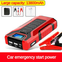 Portable 12v 13800mAh Car Emergency Start Power Supply Mobile Charging SOS LED