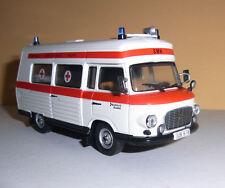 BARKAS B1000 SMH 3 - DDR Ambulanz - Rotes Kreuz - Krankenwagen _ ATLAS 1:43 OVP