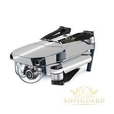 SopiGuard Chrome Silver Vinyl Skin Wrap Battery Controller for DJI Mavic Pro