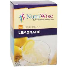 NUTRIWISE | Lemonade Diet Fruit Drink | High Protein, Zero Sugar, Zero Fat