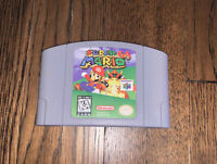 Super Mario 64 - Nintendo 64 Game - Tested & Working! - Free Shipping! 🔥