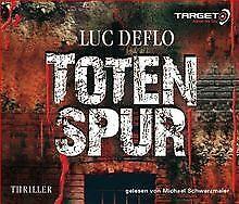 Totenspur, 5 CDs (TARGET - mitten ins Ohr) von Luc Deflo   Buch   Zustand gut