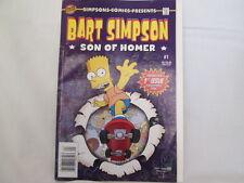 Rare 2000 Bart Simpson Son Of Homer #1 Bongo Comics 1st Issue