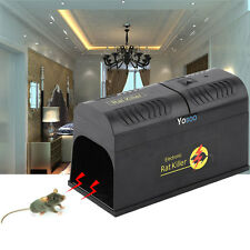 New Electronic Mouse Rat Rodent Killer Electric Trap Zapper Pest Control  US