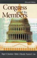 Congress and Its Members (Congress and Its Members) Davidson R, Oleszek W, Lee