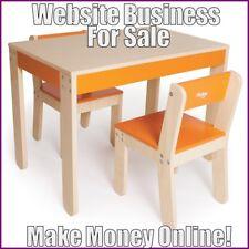 CHILDRENS FURNITURE Website Earn $349.50 A SALE|FREE Domain|FREE Hosting|Traffic