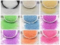 10000 Ceylon Pearl Glass Seed Beads 1.5mm (12/0) + Storage Box Colour Choice