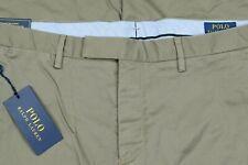 Polo Ralph Lauren Green Mens Stretch Slim Fit Casual Dress Chino Pants 34x30