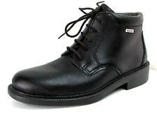 CHAUSSURES MONTANTES 39 UK 6 cuir noir à lacets homme SympaTex ROHDE NEUF