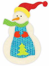 Sizzix Snowman Bigz L die #660084 Retail $29.99 Great for Applique by J. Perrine