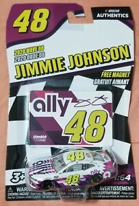 Jimmie Johnson Nascar Authentics 2020 Wave 08 1:64 Ally Brand New