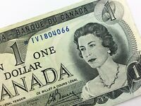 1973 Canada 1 One Dollar Circulated IV Replacement Lawson Bouey Banknote R329