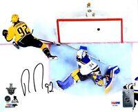 Ryan Johansen autographed signed 8x10 photo NHL Nashville Predators PSA COA