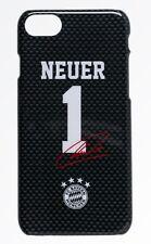 Back Cover FC Bayern München - Neuer 1 Autogramm [ iPhone 7 8 ] Handyhülle FCB