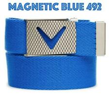 Callaway Golf Apparel Mens Webbed Chev Belt (Magnetic Blue) OSFM