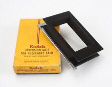 KODAK ACCESSORY BACK EXTENSION UNIT FOR MEDALIST, BOXED/cks/194854