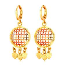 Vintage Chandelier Drop Earrings for Women 18K Gold Plated Fashion Jewelry