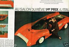 C- Coupure de Presse Clipping 1968 (4 pages) Salon de L'auto De Genève