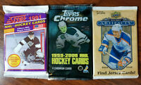 NHL 3 pack special range from 1991 - 2009 hockey - see details inside