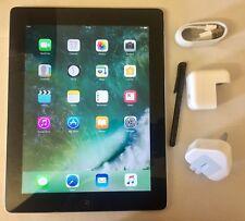 EXCELLENT Apple iPad 4th Generation 32GB, Wi-Fi, 9.7in - Black, Retina Display.
